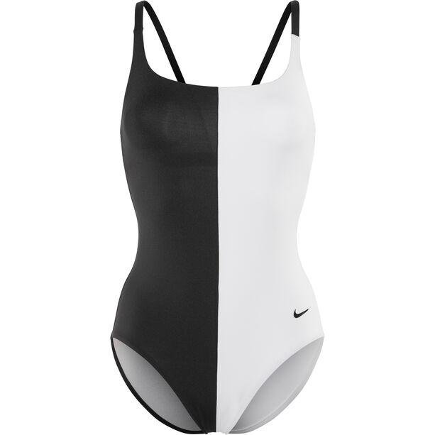 Nike Swim Color Surge V-Back One Piece Damen black