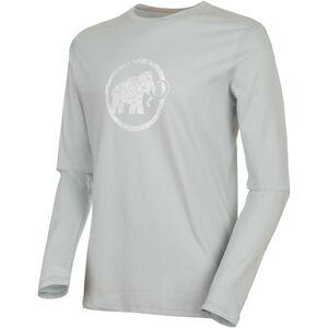 Mammut Logo Langarm Shirt Herren highway highway