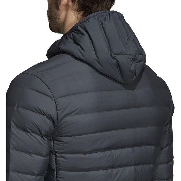 adidas TERREX Varilite Soft Kapuzen-Daunenjacke Herren carbon