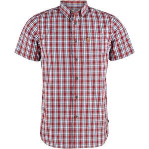Fjällräven Övik SS Shirt Herren deep red deep red