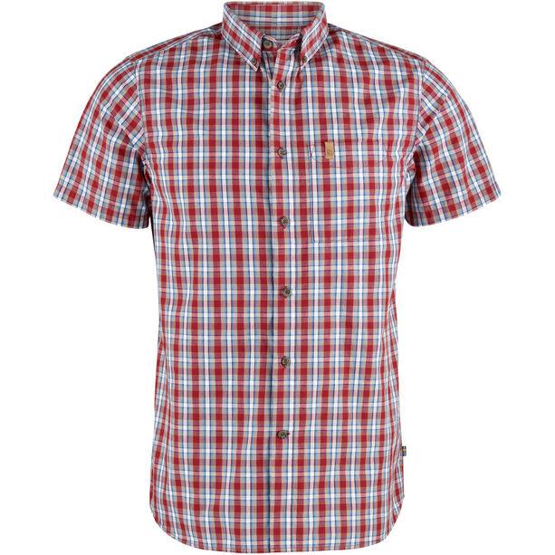 Fjällräven Övik SS Shirt Herren deep red