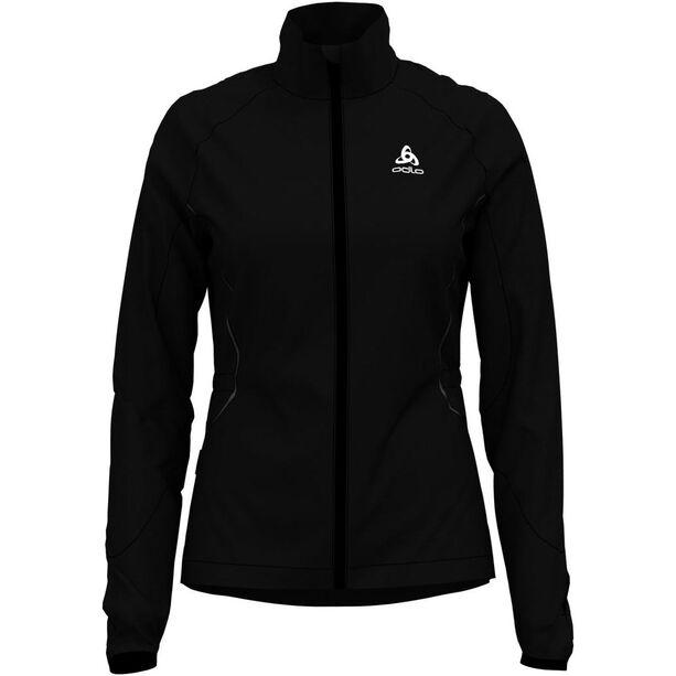 Odlo Zeroweight Windproof Warm Jacke Damen black