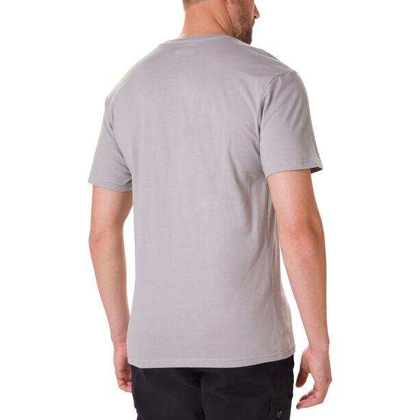 Columbia Muir Pass Kurzarm Graphic T-Shirt Herren columbia grey/buffalo camo