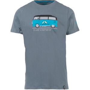 La Sportiva Van T-Shirt Herren slate slate