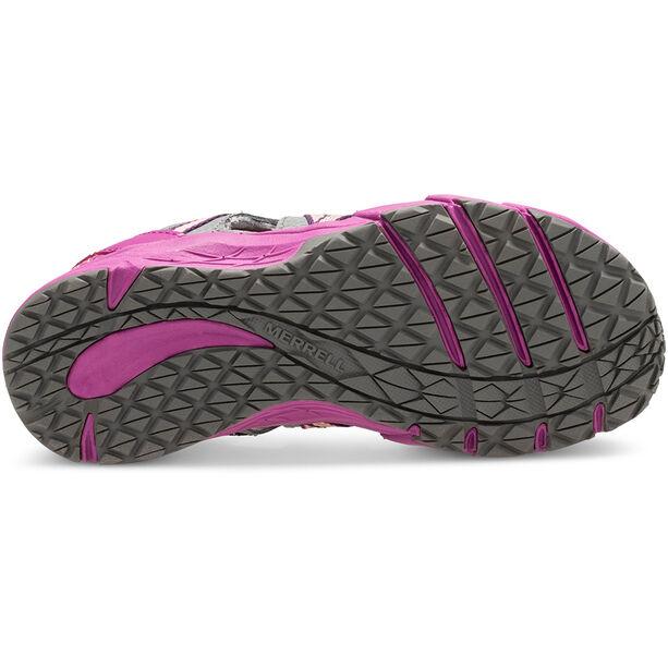 Merrell M-Hydro Choprock Shandal Sandals Kinder grey/purple