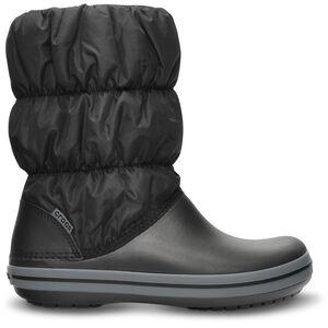 Crocs Winter Puff Stiefel Damen black/charcoal black/charcoal