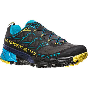 La Sportiva Akyra Running Shoes Herren carbon/tropic blue carbon/tropic blue