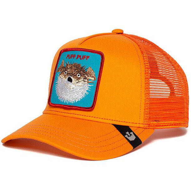 Goorin Bros. Puff Trucker Cap orange
