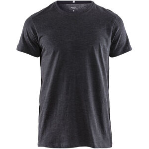 Craft Deft 2.0 Kurzarm T-Shirt Herren dark grey melange dark grey melange