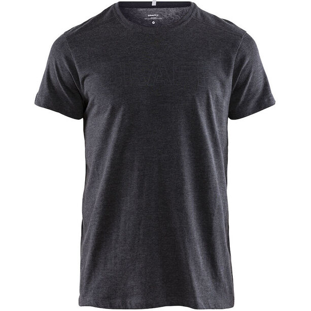 Craft Deft 2.0 Kurzarm T-Shirt Herren dark grey melange