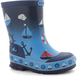Viking Footwear Seilas Boots Kinder navy/blue navy/blue