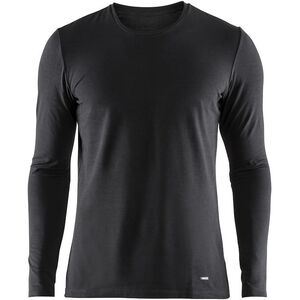 Craft Essential Warm Round-Neck LS Shirt Herren black black