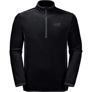 Jack Wolfskin Echo Fleece Pullover Herren black black