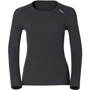 Odlo Active Originals Warm LS Shirt Crew Neck Damen black black
