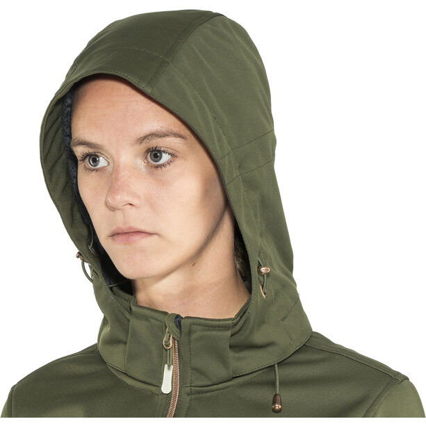 Meru Falun Softshell Jacket Damen forest night