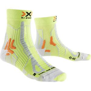X-Socks Trail Run Energy Socks Herren green lime/pearl grey green lime/pearl grey