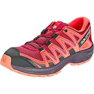 Salomon XA Pro 3D Shoes Kinder cerise./dubarry/peach amber cerise./dubarry/peach amber