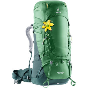 Deuter Aircontact 60 + 10 SL Backpack Damen leaf-forest leaf-forest