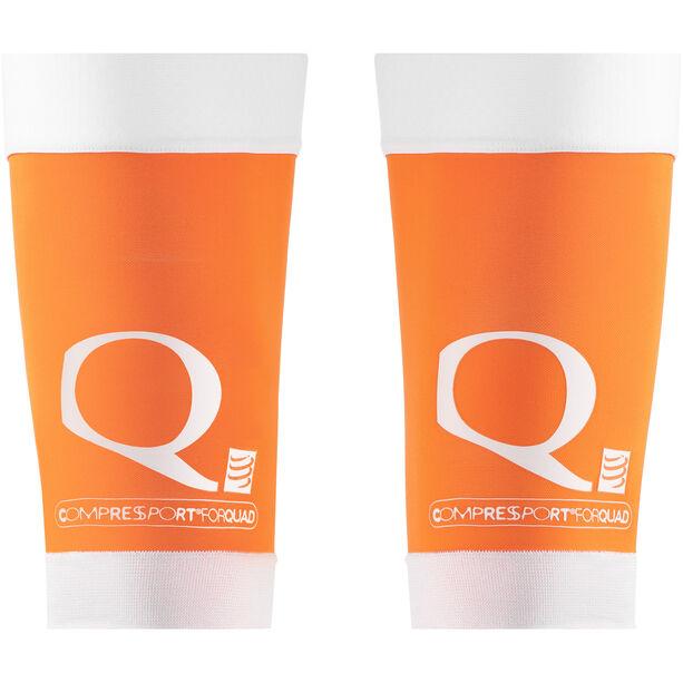 Compressport Quad Sleeves orange
