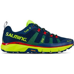 Salming Trail 5 Shoes Herren poseidon blue/safety yellow poseidon blue/safety yellow
