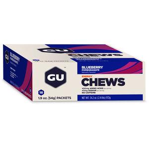 GU Energy Chews Box 18x54g Blaubeere-Granatapfel