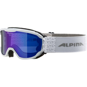 Alpina Pheos MM Goggles Kinder white blue white blue