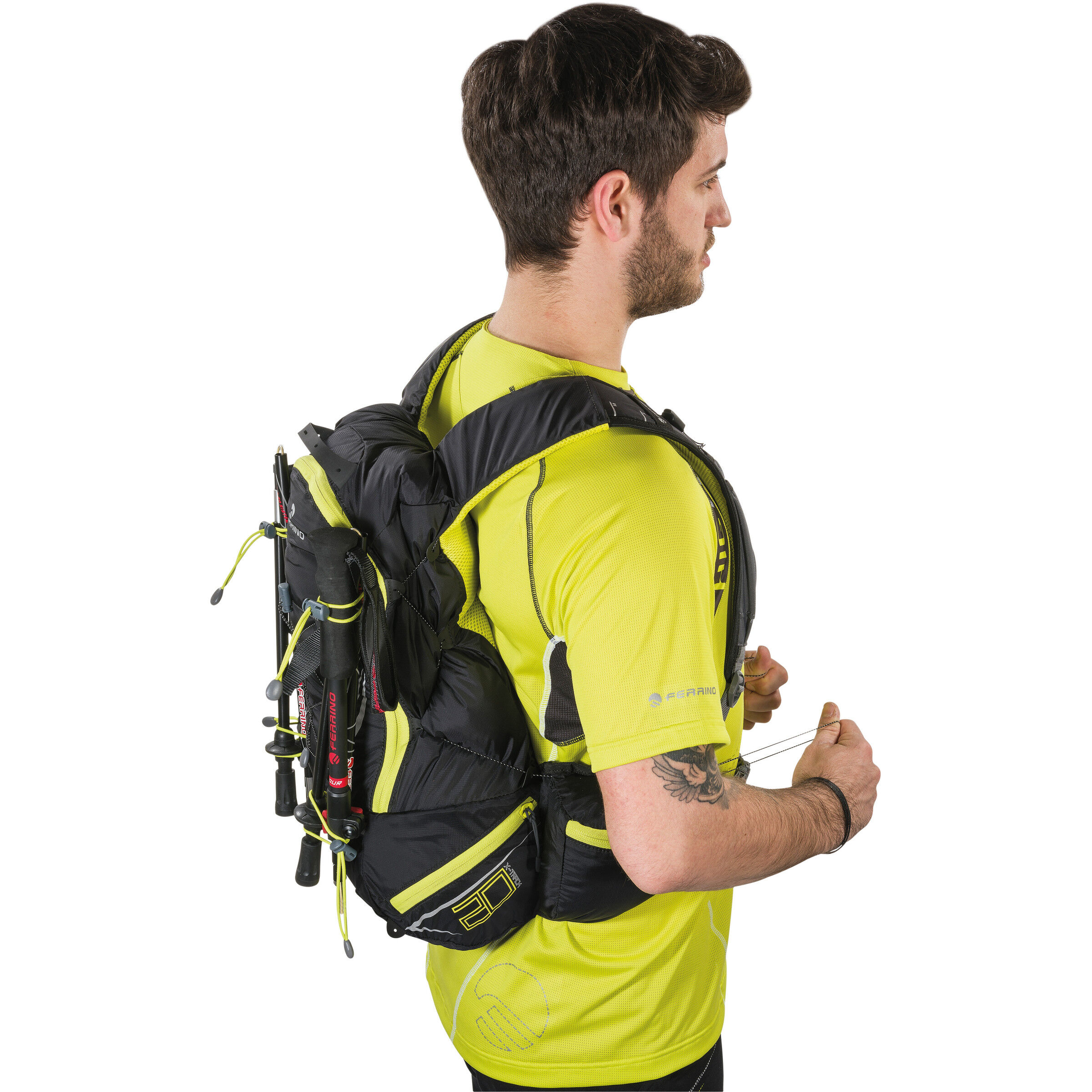 Ferrino X Track Trail Running Rucksack 20l black