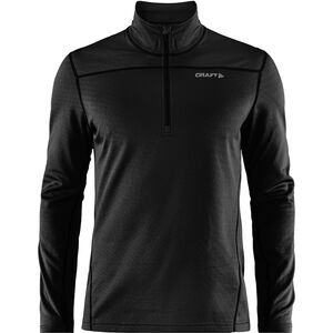 Craft Pin Halfzip Pullover Herren black black