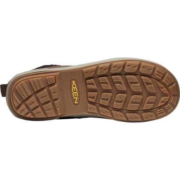 Keen Elsa II Wool WP Shoes Damen cascade brown/fried brick
