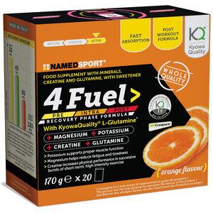 NAMEDSPORT 4Fuel Iso Drink Beutel 20x8,5g Orange