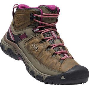 Keen Targhee III Mid WP Shoes Damen weiß/boysenberry weiß/boysenberry