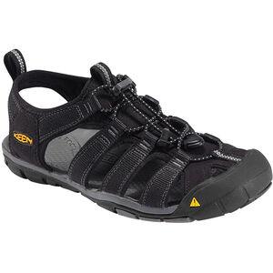 Keen Clearwater CNX Sandals Herren black/gargoyle black/gargoyle