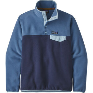 Patagonia Lightweight Synchilla Snap-T Pullover Damen neo navy/woolly blue neo navy/woolly blue