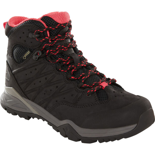 The North Face Hedgehog Hike II Mid GTX Schuhe Damen tnf black/atomic pink