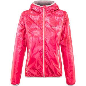 Regatta Leera III Jacket Damen neon pink tie-dye neon pink tie-dye