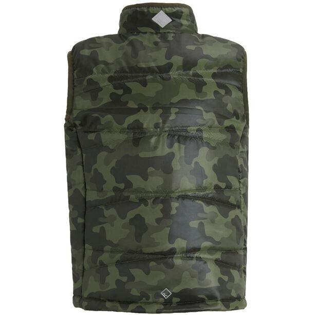 Regatta Icebound III B/W Vest Jungs printed dark khaki camo