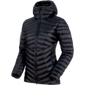 Mammut Broad Peak IN Hooded Jacket Damen black-phantom black-phantom