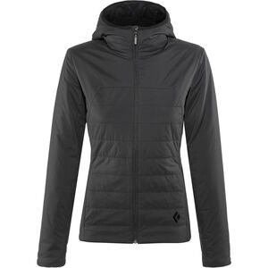 Black Diamond First Light Hoodie Jacket Damen smoke smoke
