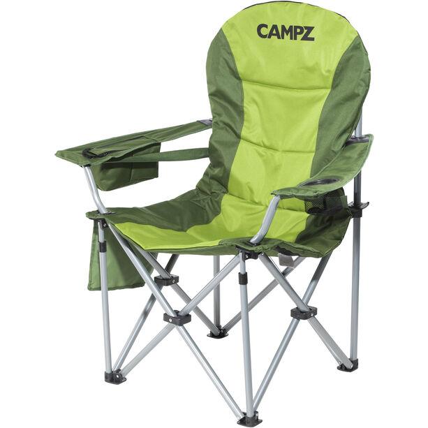 CAMPZ Deluxe Faltstuhl grün