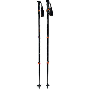 Komperdell Hikemaster Compact Powerlock Poles black/orange black/orange