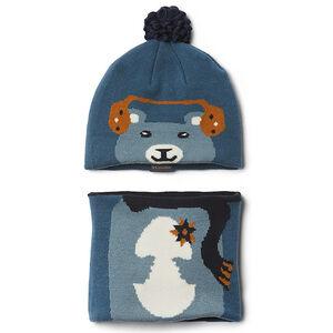 Columbia Snow More Mütze und Schal Set Kleinkind blue heron bear blue heron bear