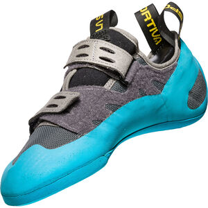 La Sportiva GeckoGym Climbing Shoes Herren carbon/tropic blue carbon/tropic blue