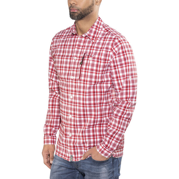 Meru Bossost Functional LS Shirt Herren cherry