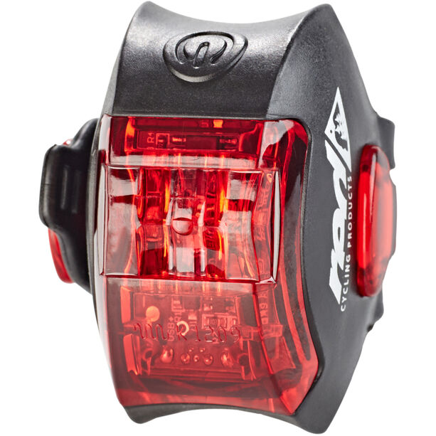 Red Cycling Products Power LED USB Rear Light schwarz