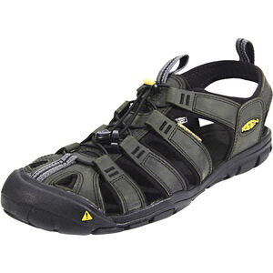 Keen Clearwater CNX Leather Sandals Herren magnet/black magnet/black