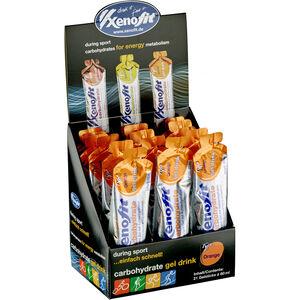 Xenofit Kohlenhydrat Hydro Gel Box 21x60ml Orange