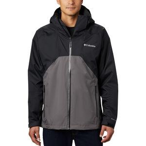 Columbia Rain Scape Jacke Herren black/city grey/black zips black/city grey/black zips