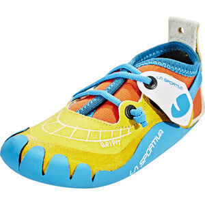 La Sportiva Gripit Climbing Shoes Kinder yellow/flame yellow/flame