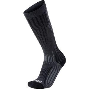 UYN Kaschmir Ski Socken Herren grey rock/black grey rock/black