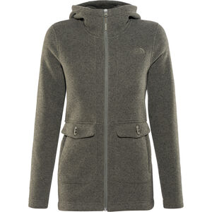 The North Face Crescent Parka Damen new taupe green heather new taupe green heather